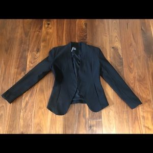 NWOT Sparkle and Fade black blazer XS